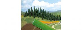 BUSCH 7230 Gelände-Teppich dunkelgrün 200cm x 80cm  Anlagenbau alle Spurweiten kaufen