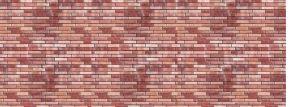 BUSCH 7425 Dekoplatte Klinkermauer rot | Spur H0 kaufen