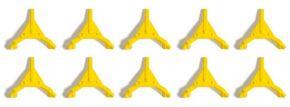 BUSCH 7767 MiniSet Parkkrallen 10 Stück Fertigmodell 1:87 kaufen
