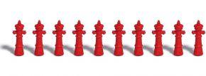 BUSCH 7774 Mini-Set Hydranten | Zubehör Spur H0