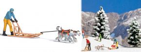 BUSCH 7817 Hundeschlitten-Set 2 Figuren Fertigmodell 1:87 kaufen