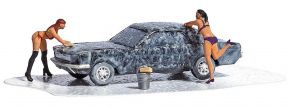 BUSCH 7824 Action-Set Sexy Car-Wash Fertigmodell 1:87 kaufen