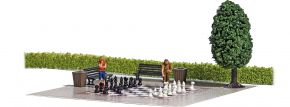 BUSCH 7839 Action-Set Gartenschach Fertigmodell 1:87 kaufen