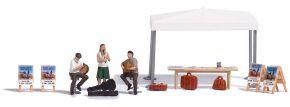 BUSCH 7846 Action-Set Strassenmusikanten Bausatz 1:87 kaufen