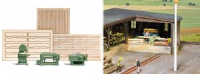 BUSCH 7850 Holzbearbeitungsmaschinen 3 Stück Fertigmodelle 1:87 kaufen