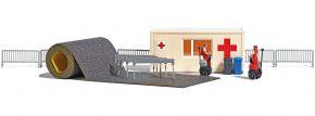 BUSCH 7869 Sanitätsstation mit Segways Bausatz 1:87 kaufen