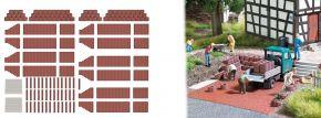 BUSCH 7871 Pflanzsteine und Palisaden rotbraun Bausatz 1:87 kaufen