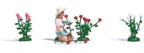 BUSCH 7878 Action Set Rosenpflückerin Fertigmodell Spur H0 kaufen