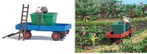 BUSCH 7879 Action Set Traubenernte mit Gummiwagen Fertigmodell Spur H0 kaufen