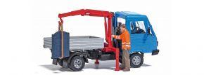 BUSCH 7906 Action Set Fahrzeug mit Kran Fertigmodell Spur H0 kaufen