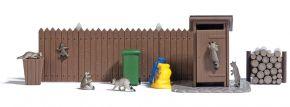 BUSCH 7922 Action-Set Waschbären   Fertigmodell   Spur H0 kaufen