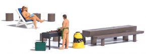 BUSCH 7946 Action-Set Nackt grillen   Fertigmodell   Spur H0 kaufen