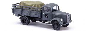 BUSCH 80081 LKW L 3000 A mit Ladegut | Militaria-Modell 1:87 kaufen