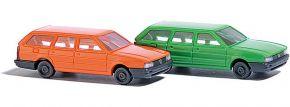 BUSCH 8300 Auto-Set 2 VW Passat Kombi orange + grün | Automodelle 1:160 kaufen