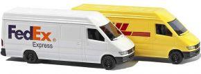 BUSCH 8304 Lieferfahrzeug-Set Mercedes Sprinter | Automodell 1:160 kaufen