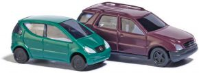 BUSCH 8310 Mercedes A und M Klasse | Automodelle 1:160 kaufen