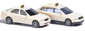 BUSCH 8341 Taxi-Set 2 Fahrzeuge | Automodelle 1:160 kaufen
