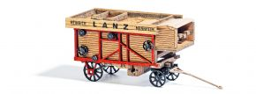 BUSCH 8368 Dreschmaschine Lanz aus Echtholz Fertigmodell 1:160 kaufen