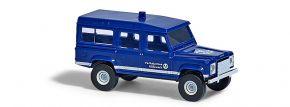 BUSCH 8373 Land Rover Defender THW Blaulichtmodell Spur N kaufen