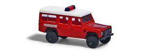 BUSCH 8375 Land Rover Defender Feuerwehr Blaulichtmodell Spur N kaufen