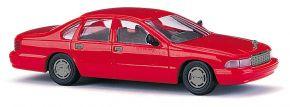 BUSCH 89123 Chevrolet Caprice rot Automodell 1:87 kaufen