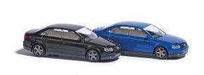 BUSCH 89133 Audi A4 Limousine B6 dunkelblau Automodell 1:87 kaufen