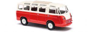 BUSCH 94150 Goliath Express Luxusbus rot/creme | Modellauto 1:87 kaufen
