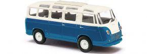 BUSCH 94151 Goliath Express Luxusbus blau/creme | Bus-Modell 1:87 kaufen