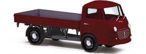 BUSCH 94202 Goliath Express 1100 Pritsche weinrot | Modell-LKW 1:87 kaufen