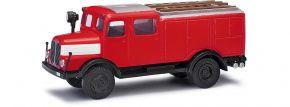 BUSCH 95615 IFA S4000 TLF Feuerwehr mit Bauchbinde Blaulichtmodell 1:87 kaufen