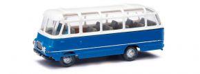 BUSCH 95714 Robur LO2500 blau weiss Busmodell 1:87 kaufen