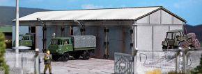 BUSCH 9608 Fahrzeughalle LaserCut Bausatz Spur H0 kaufen