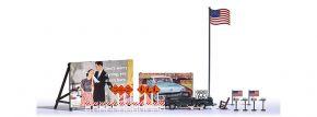 BUSCH 9720 US Ausgestaltungset USA Zubehörset Bausatz 1:87 kaufen
