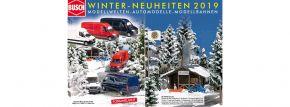 BUSCH 999910 Prospekt Automodelle Winter-Neuheiten 2019 | GRATIS kaufen