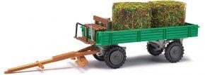 BUSCH 210005911 Fuhrwerk mit Heurollen/Milchkannen | Landwirtschaftsmodell 1:87 kaufen