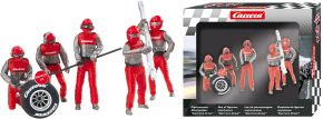 Carrera 21131 Digital 132 / Evolution Figurensatz Mechaniker, rot | 5 Stück | 1:32 kaufen