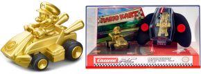 Carrera 430001 Mario Kart - Mario Gold Mini RC-Auto | 2.4Ghz | RTR | ab 6 Jahren kaufen