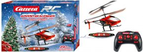 Carrera 501042 RC Adventskalender | mit 2,4 GHz RC Helicopter | 1:18