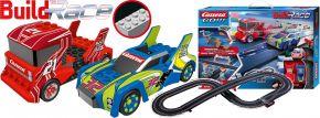 Carrera 62529 Go!!! Build n Race - Racing Set 3.6 | Klemmbaustein Autorennbahn 1:43 kaufen
