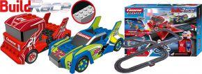 Carrera 62531 Go!!! Build n Race - Racing Set 6.2 | Klemmbaustein Autorennbahn 1:43 kaufen