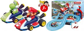 Carrera 63026 FIRST Nintendo Mario Kart | Autorennbahn Grundset | ab 3 Jahren kaufen
