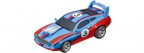 Carrera 64141 Go!!! Muscle Car - blue   Slot Car 1:43 kaufen