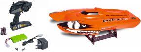 CARSON 500108034 Race Shark orange FD | 2.4GHz | RC Boot Komplett-RTR kaufen
