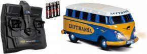 CARSON 500504134 VW T1 Bus Lufthansa | 2.4GHz | RC Auto 1:87 Spur H0 kaufen