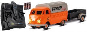 CARSON 500504135 VW T1 Bus + Dunlop Anhänger 2.4GHz | RC Auto 1:87 Spur H0 kaufen
