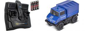 CARSON 500504138 Unimog U406 THW 2.4GHz | RC Auto 1:87 Spur H0
