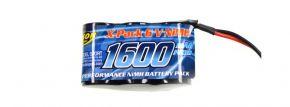 CARSON 500608159 Akku Pack | 6 Volt | 1600 mAh | NiMH | JR-Stecker kaufen