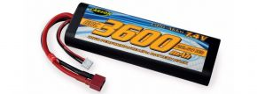 CARSON 500608231 Racing Akku | LiPO | 7,4 Volt | 3600 mAh | 60C | T-Plug kaufen