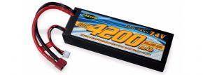 CARSON 500608233 Racing Akku | LiPO | 7,4 Volt | 4200 mAh | 60C | T-Plug kaufen