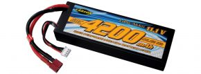 CARSON 500608235 Racing Akku | LiPO | 11,1 Volt | 4200 mAh | 60C | T-Plug kaufen